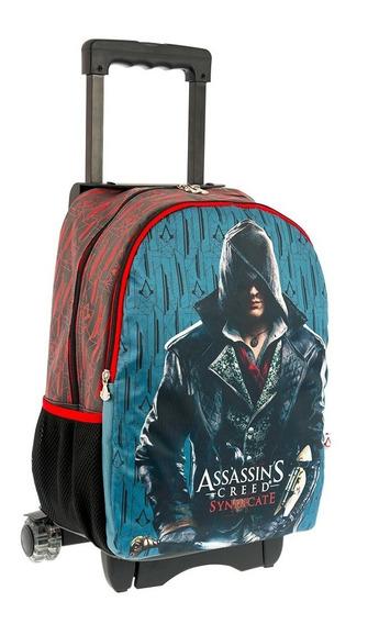 Mochila Escolar Carrito Ruedas Assassins Creed 62028c