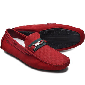 2e92377fe3 Sapato Gucci Masculino - Sapatos Vermelho com o Melhores Preços no ...