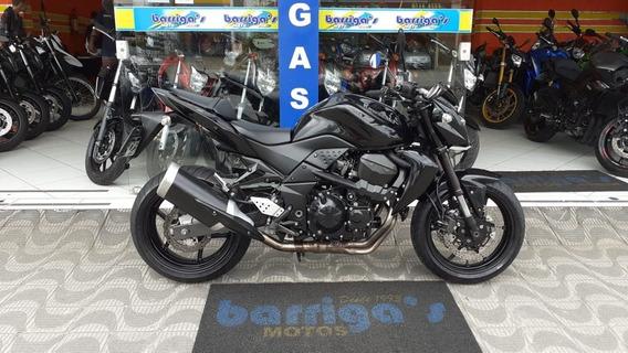 Kawasaki Z 750 2012 Preta Impecável