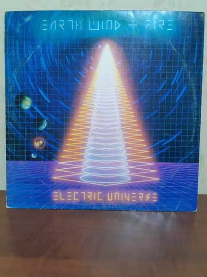 Lp Disco D Vinil Earth Wind And Fire Eletronic Universe 1983