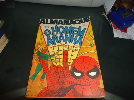 Almanaque O Homem Aranha 1973 Ebal Excelente Estado