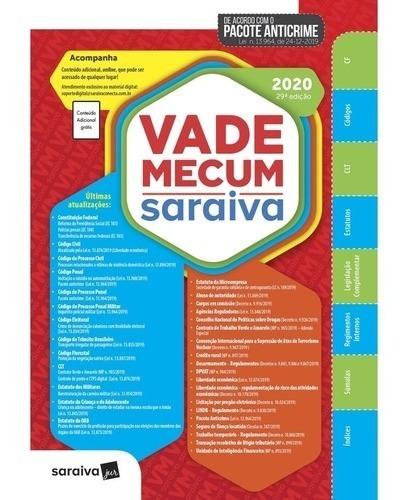 Vade Mecum - Saraiva - 29 Ed - 2020