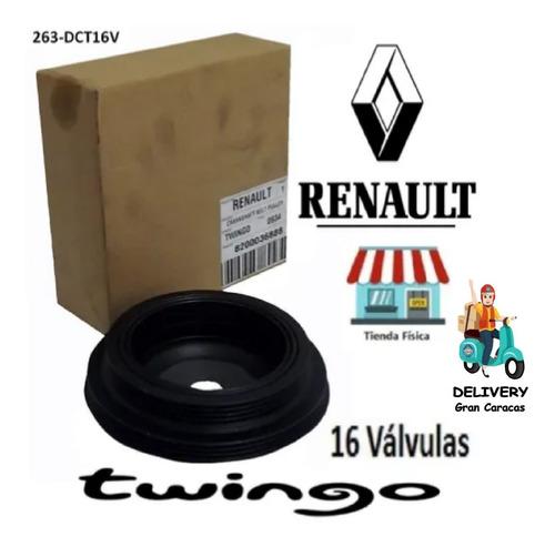 Damper Cigüeñal Renault  Twingo2 16v