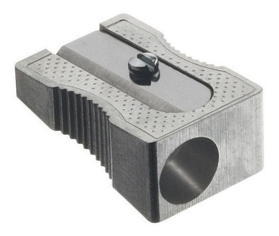 Sacapuntas Faber Castell Metal Con 3 Cuchillas 1 Orificio