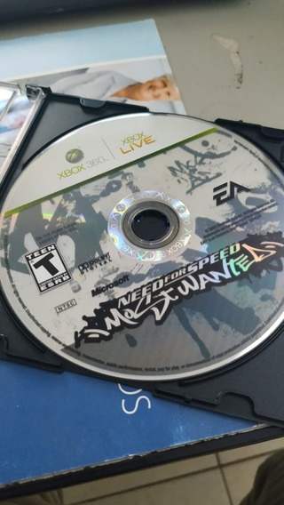Need For Speed Most Wanted 2005 Xbox 360 Original Ntsc