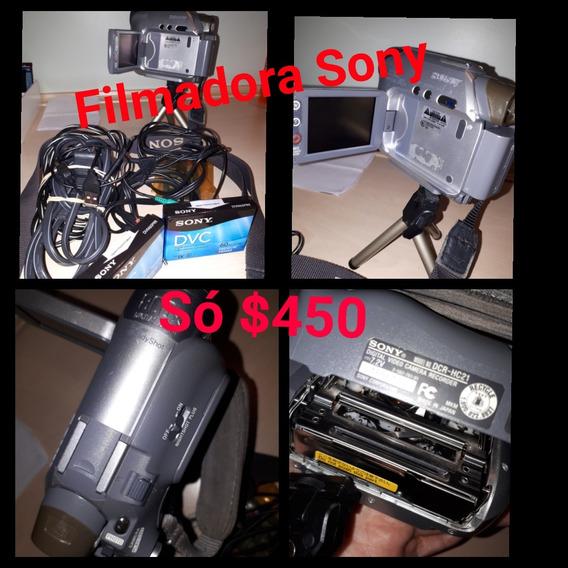 Filmadora Sony Ótimo Estado So 120$