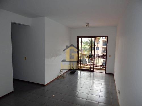 Apartamento Com 3 Dormitórios Para Alugar, 71 M² Por R$ 1.150/mês - Iguatemi - Ribeirão Preto/sp - Ap2713