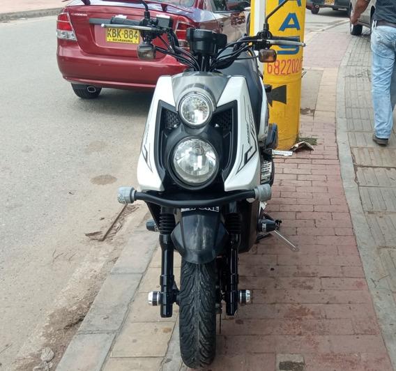 Yamaha Bws X 125 Cc Blanca