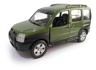 Miniatura Fiat Doblo 2008 Colecao Classicos Brasileiros 1 32