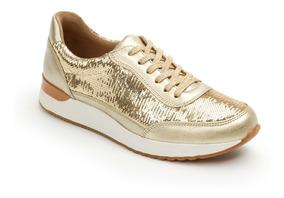 Sneaker Flexi Dama 37704 Oro