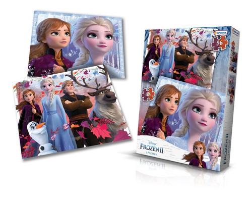 Imagen 1 de 2 de 2 Puzzles Rompecabezas 48 Y 56 P 16x20 Frozen 2 Juego Niños