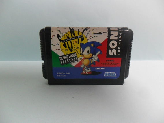 Sonic The Hedgehog - Sonic 1 - Original