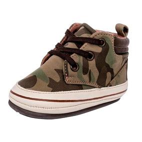 Tenis Sneaker Bota Ensueño Niños Textilsint Verde 22597 Dtt