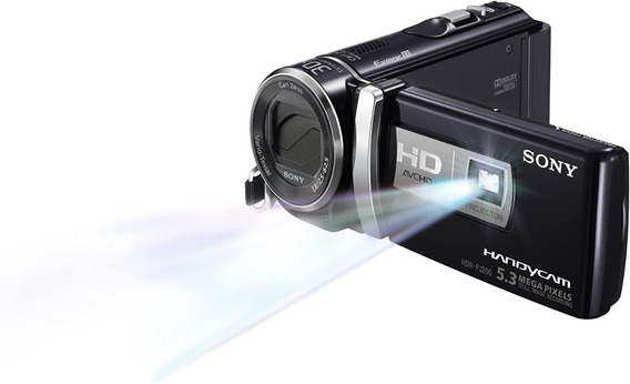 Filmadora Sony Pj200 Projetor Integrado Youtuber Hdmi Limpa