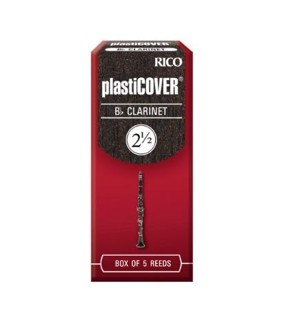Cañas Para Clarinete Rico Plasticover Fuerza 2 ½ X 5 Unidad