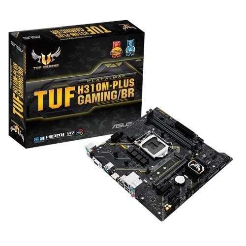 Placa Mãe Asus Lga 1151 Atx Tuf H310m-plus Gaming 8 Geração