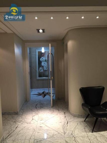 Apartamento Com 3 Dormitórios À Venda, 330 M² Por R$ 1.900.000 - Jardim - Santo André/sp - Ap9078