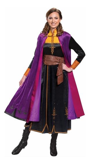Disfraz Frozen 2 Anna De Lujo (adulto - Mujer)