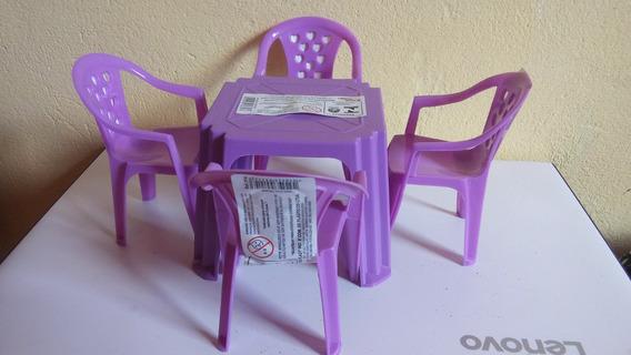Conjunto Cadeira Da Barbie