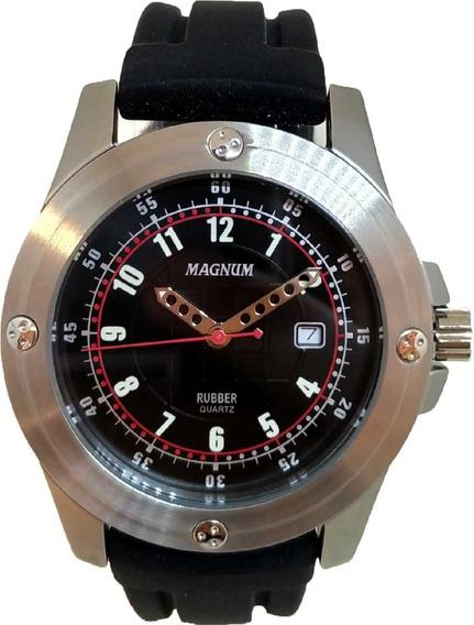 Relógio Magnum Masculino Rubber Mr30493t