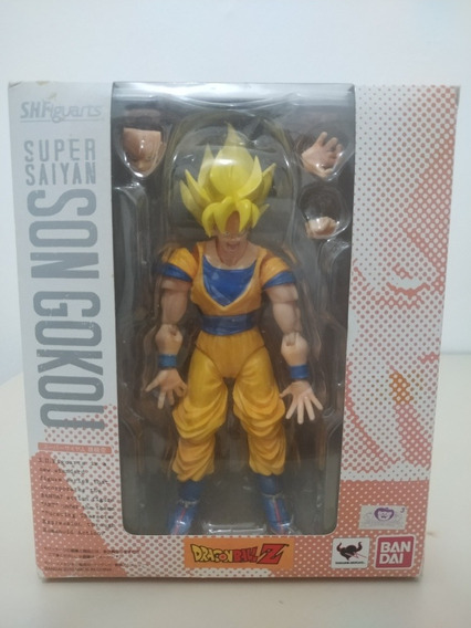 Action Figure Son Goku Sh Figuarts Original