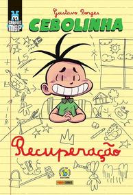 Cebolinha: Recuperação - Capa Cartão - Maurício De Sousa