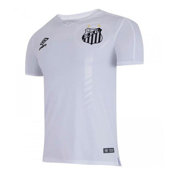 Camisa Umbro Santos I 19/20 Nº 10 - Original