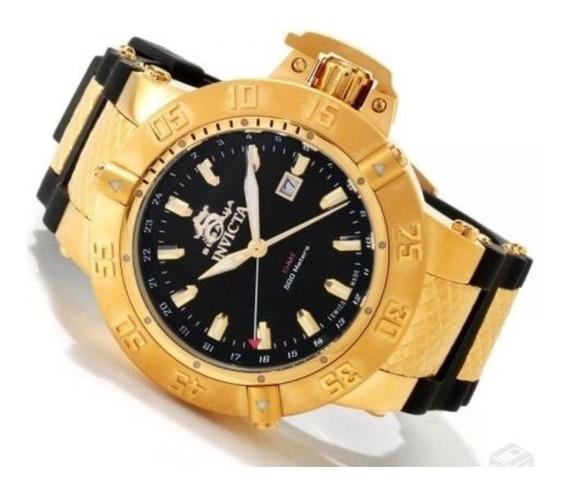 Relógio Invicta Subaqua 1149 Novo Ouro 18 K - Original