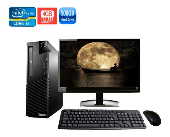 Computador Lenovo M93 Sff Core I3 4° Geração 4gb Hd 500gb