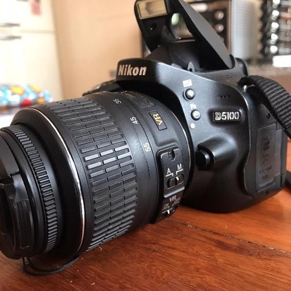 Câmera Nikon D5100 + Tripé Manfrotto