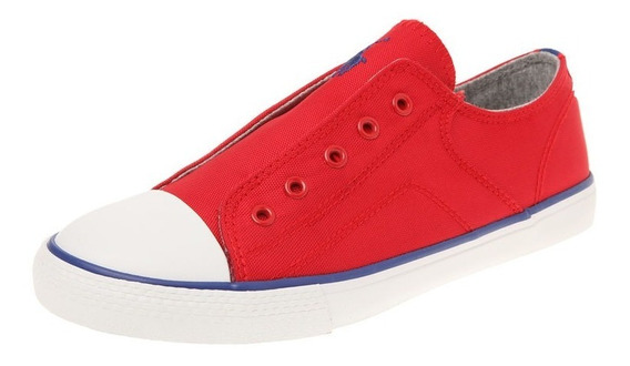 Polo Ralph Lauren, Tenis Lifestyle Rojo-azul