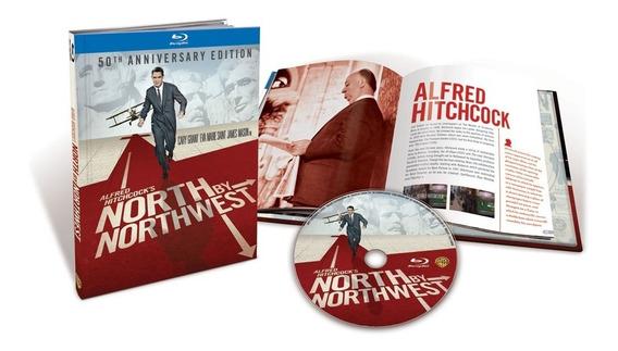 Blu-ray Intriga Internacional - Digibook - Alfred Hitchcock