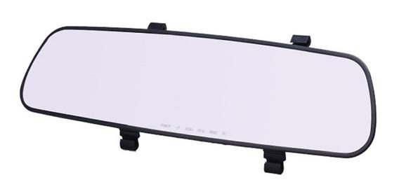 Câmera Traço Gravador De Vídeo Do Carro Ultrafino Espelho Re