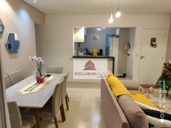 Apartamento Com 2 Dormitórios À Venda, 75 M² Por R$ 420.000,00 - Jardim Das Indústrias - São José Dos Campos/sp - Ap2638