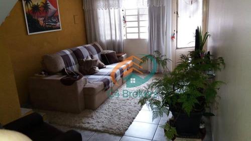 Imagem 1 de 18 de Casa Com 2 Dormitórios À Venda, 70 M² Por R$ 300.000,00 - Jardim Adriana - Guarulhos/sp - Ca0191