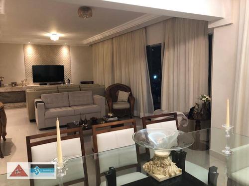Imagem 1 de 30 de Apartamento Com 3 Dormitórios À Venda, 147 M² Por R$ 990.000 - Jardim Anália Franco - São Paulo/sp - Ap6134