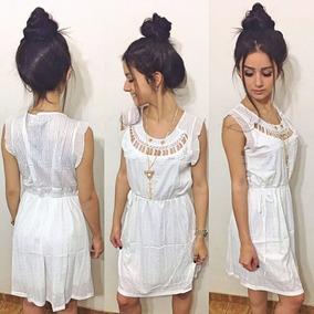 3b4d32386f Vestido Social Curto Festa - Vestidos Curtos Femininas Branco no ...