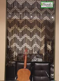 Cortina Persiana De Bambú De 2x1.6