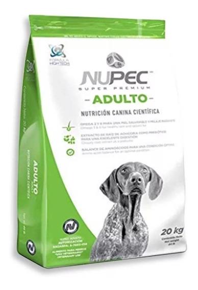 Nupec Croquetas Adulto 20 Kg Cad 2020 Somos Distribuidores