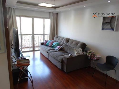 Imagem 1 de 26 de Apartamento À Venda, 110 M² Por R$ 466.400,00 - Centro - Santo André/sp - Ap1206