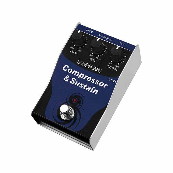 Pedal Guitarra Cst1 Compressor & Sustain - Landscape
