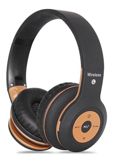 Fone De Ouvido Headphone Sem Fio Bluetooth Micro Sd Usb Fm