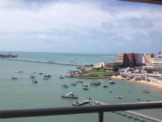 Flat Em Meireles, Fortaleza/ce De 52m² 1 Quartos À Venda Por R$ 350.000,00 - Fl544184