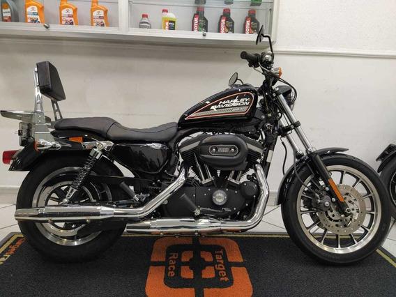 Harley Davidson Xl 883 R Preta 2013 - Target Race
