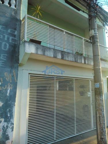 Sobrado Com 4 Dormitórios À Venda, 220 M² Por R$ 640.000 - Jaguaribe - Osasco/sp - So2064