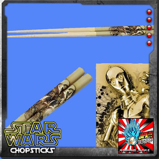 C3po Palitos Star Wars Bamboo Chopsticks Skatte Nuevos Japon
