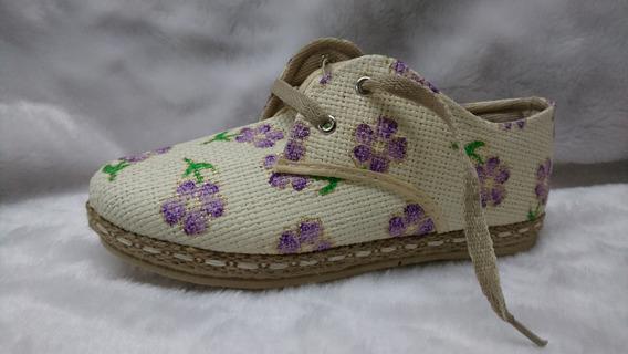 Zapatillas Urbana Yute Baja Prusianas Dama Mujer 35-41