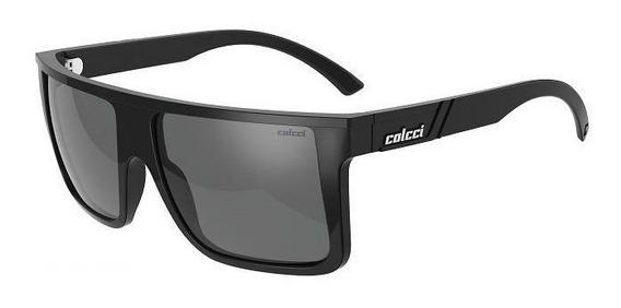 Oculos Solar Colcci Garnet 501221003 Polarizado Preto Brilho