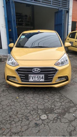 Taxi Grand I10 Sedan 2019 Como Nuevo Afiliado A Coopebombas