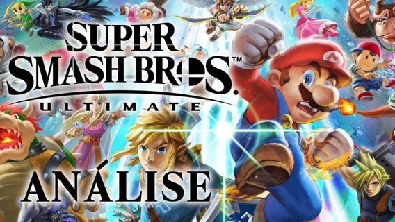 Jogo Super Smash Bros. Ultimate - Nintendo Switch